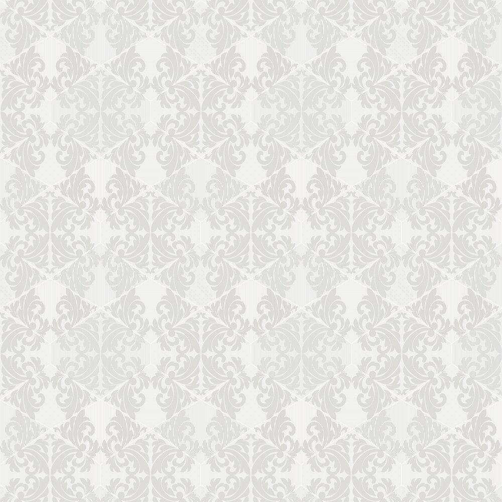 Albany Zena  White Wallpaper - Product code: 65210