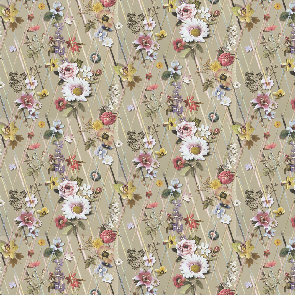 Rocaille Wallpaper - Or - by Christian Lacroix