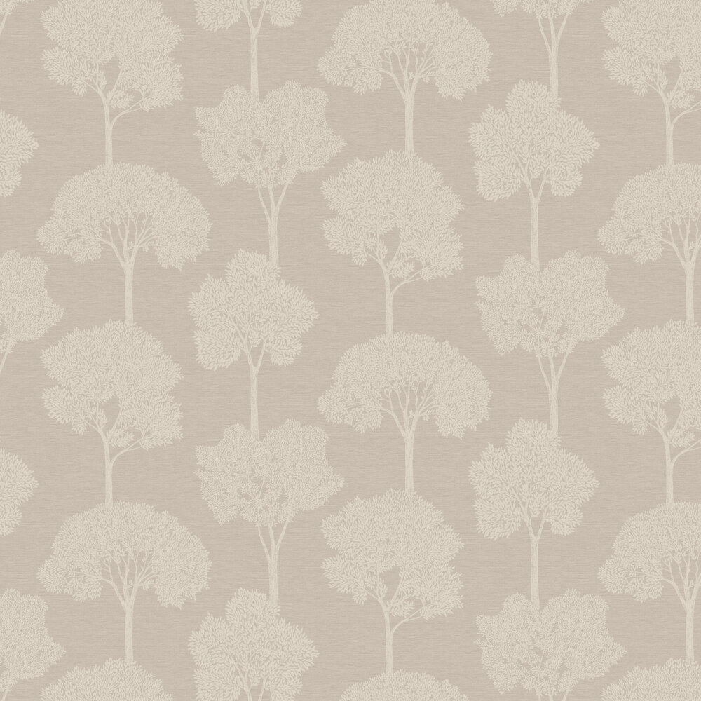 Ambleside Wallpaper - Taupe - by Albany