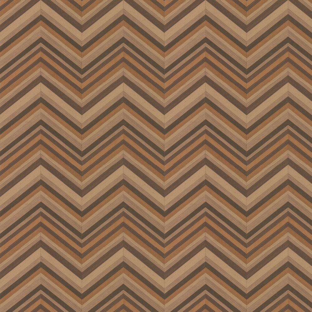 Chinotto Wallpaper - Brown - by Carlucci di Chivasso