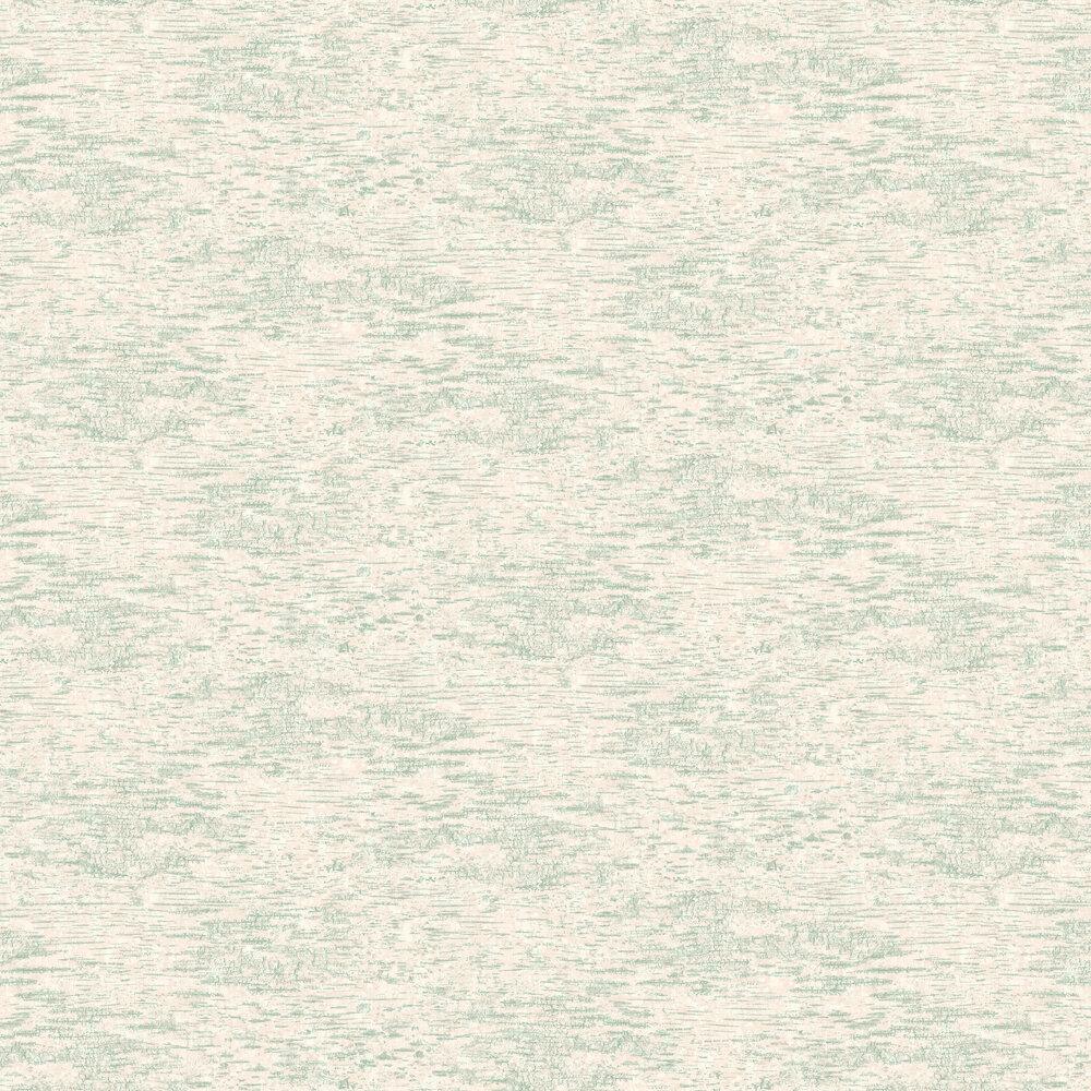 Ashdown Wallpaper - Aqua - by Elizabeth Ockford