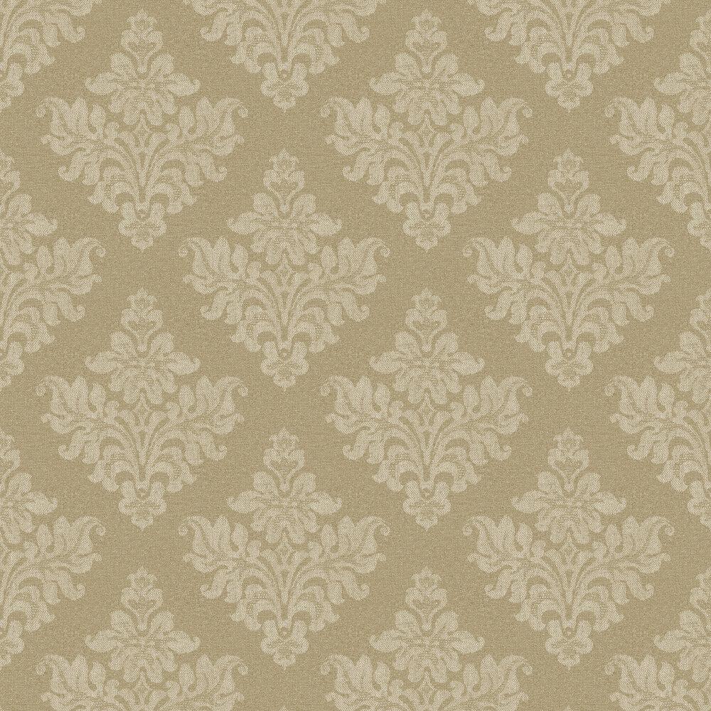 Elizabeth Ockford Petworth Dark Gold Wallpaper - Product code: EO00246