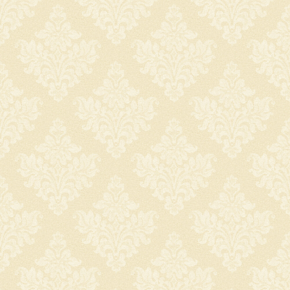Elizabeth Ockford Petworth Pale Gold Wallpaper - Product code: EO00249