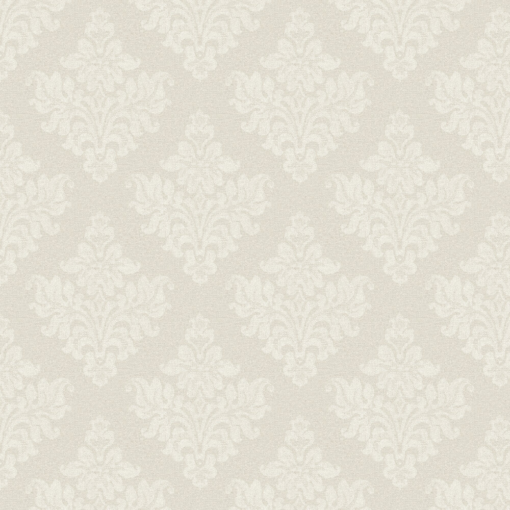 Elizabeth Ockford Petworth Grey Wallpaper - Product code: EO00253