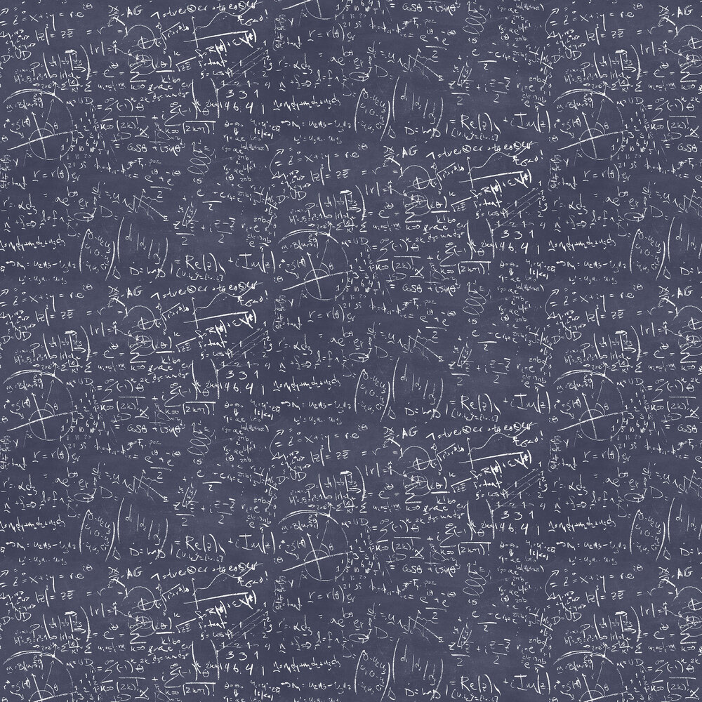 The Paper Partnership Chalkboard Navy Wallpaper - Product code: WP0090401