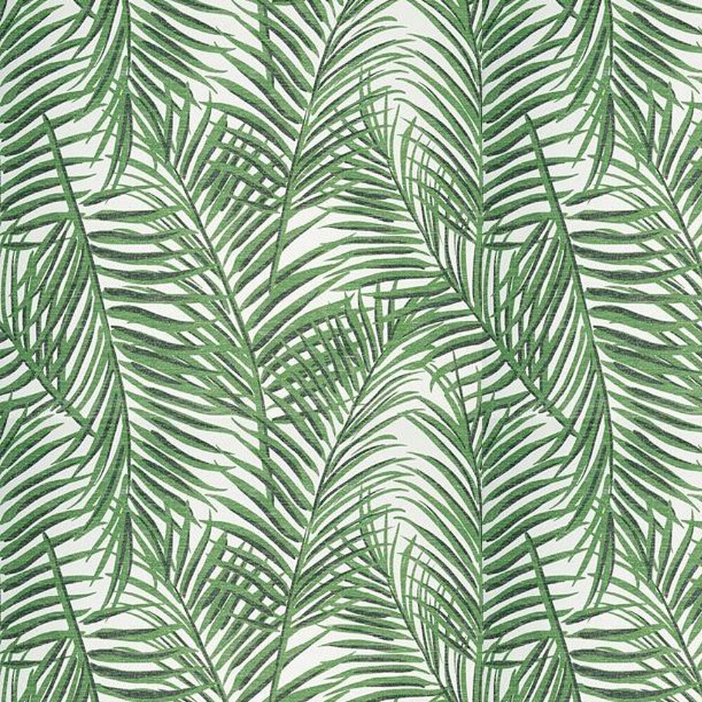 West Palm Wallpaper - Emerald Green - by Thibaut