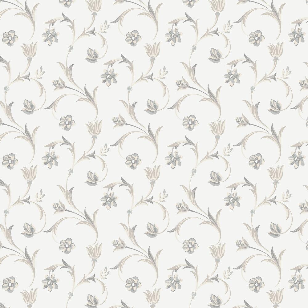 Kalmar Wallpaper - White - by Engblad & Co