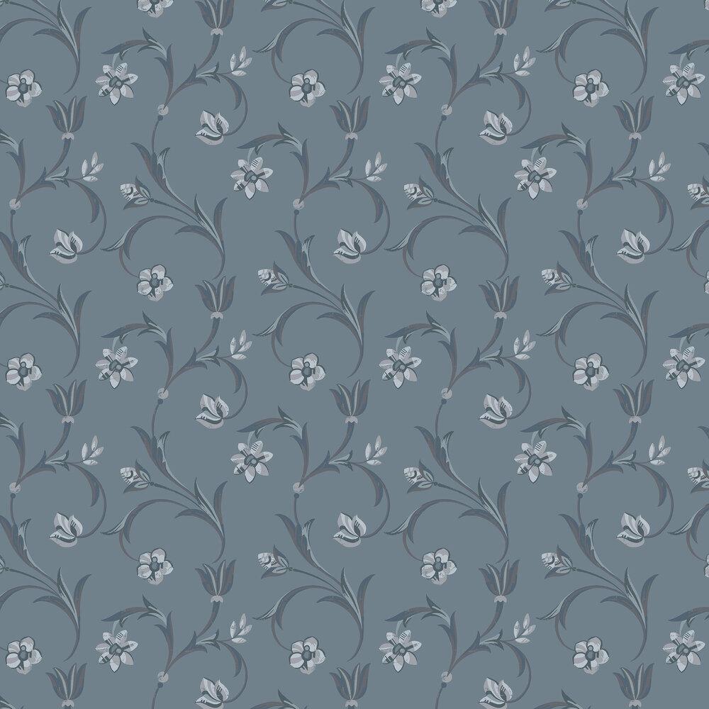 Kalmar Wallpaper - Blue - by Engblad & Co