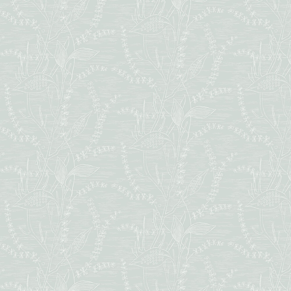 Engblad & Co Alger Blue / Green Wallpaper - Product code: 5368