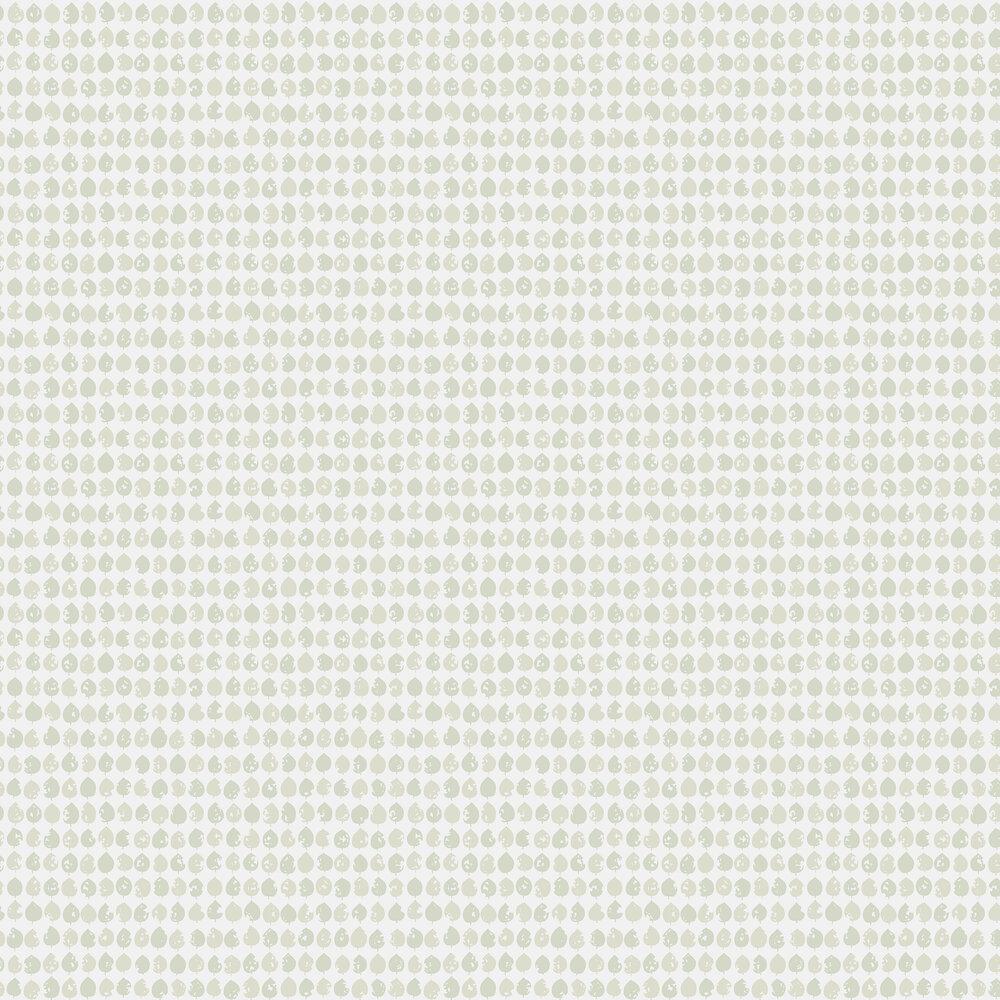Engblad & Co Ljungqvist Blad Green Wallpaper - Product code: 5375