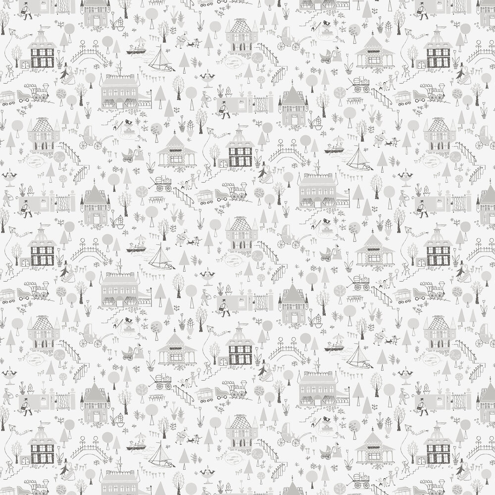 Engblad & Co Garda Grey Wallpaper - Product code: 5383