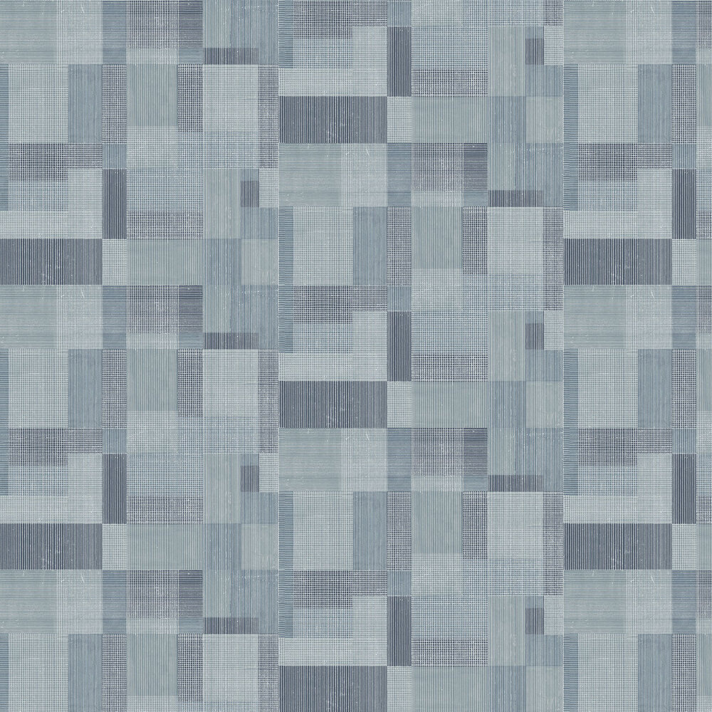 Norrkoping Wallpaper - Blue - by Engblad & Co