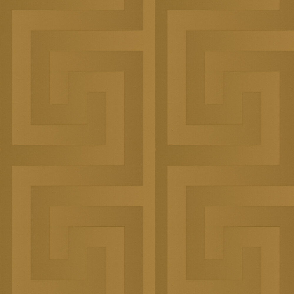 Versace Large Greek Key Gold Wallpaper - Product code: 93523-2