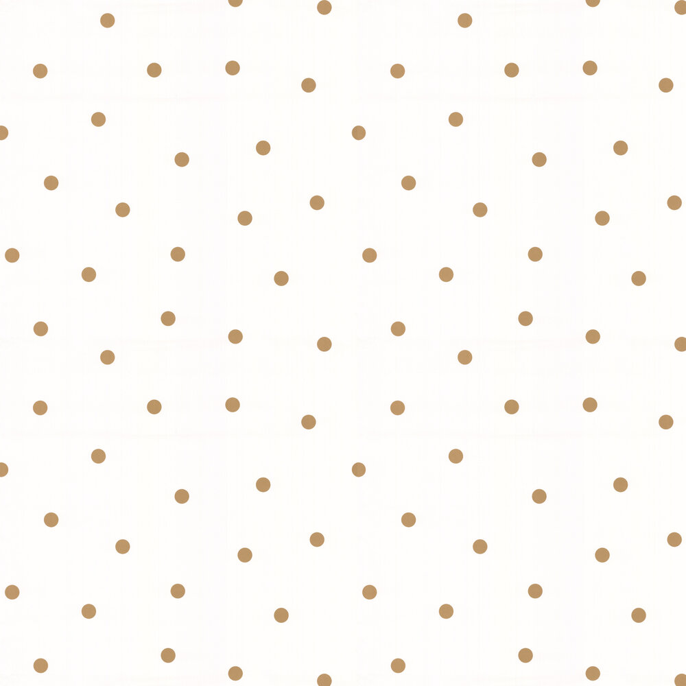 Shadow Dot Wallpaper - Gold - by Kate Spade