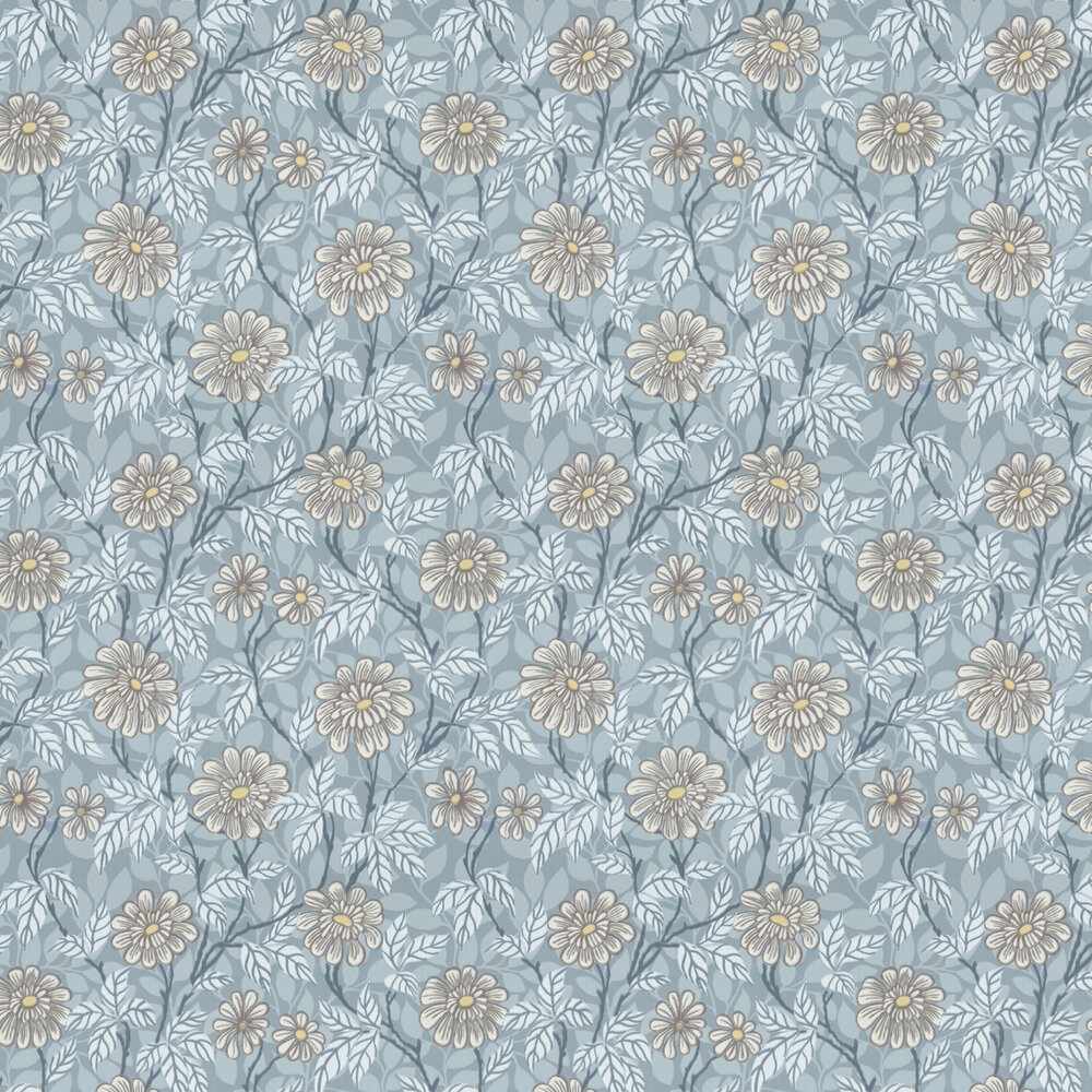 Sandberg Zinnia Blue Wallpaper - Product code: 426-26