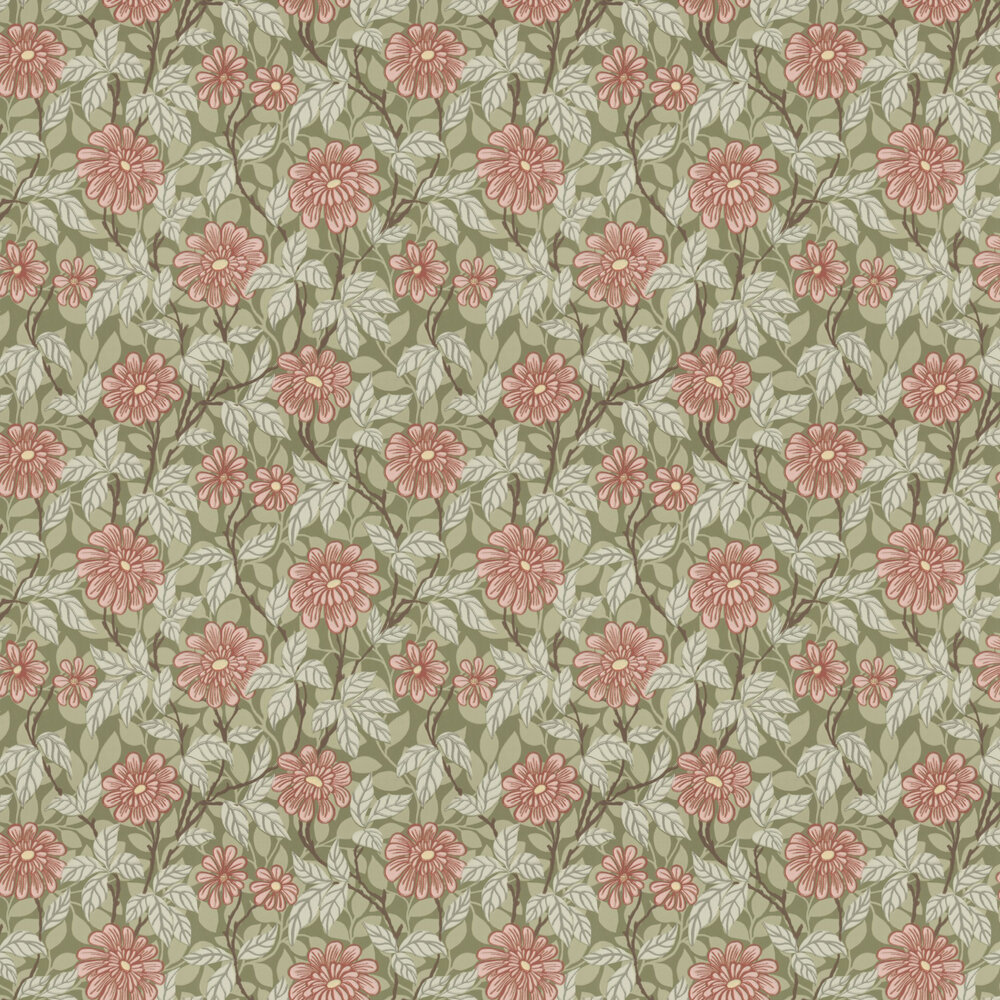 Sandberg Zinnia Green Wallpaper - Product code: 426-68