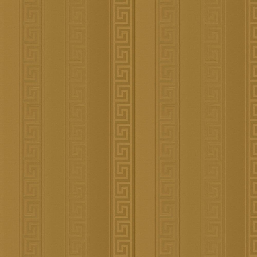 Versace Greek Stripe Gold Wallpaper - Product code: 93524-2