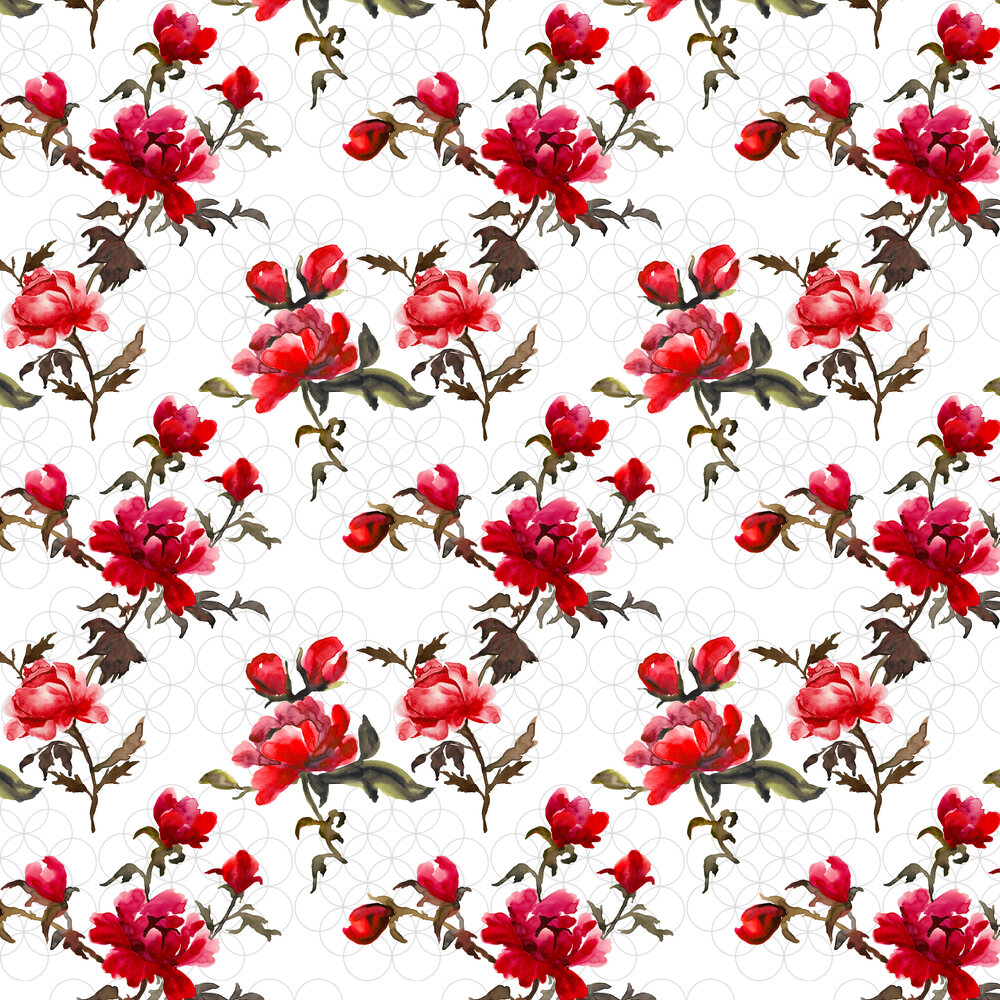 Petronella Hall Gypsy Glacier Wallpaper - Product code: G-WG