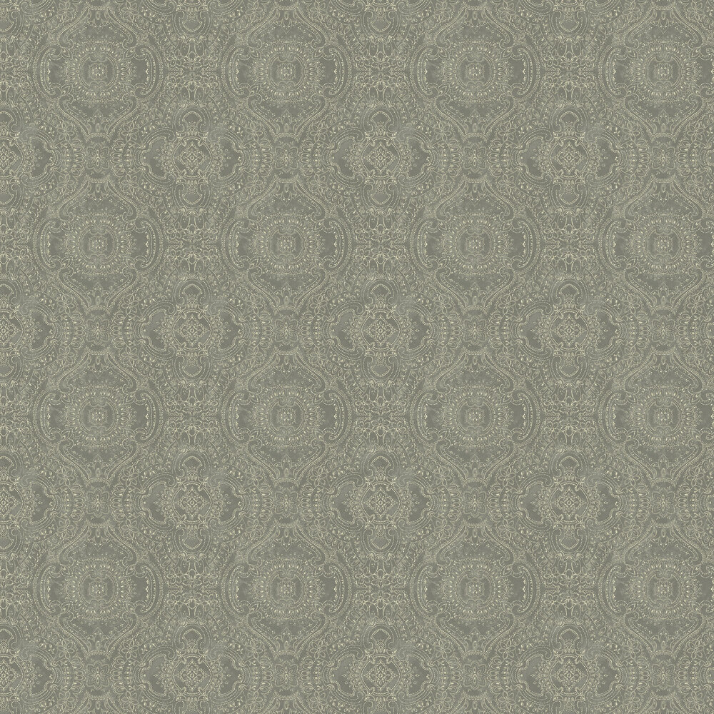 Labyrinth Wallpaper - Dove Grey - by Linwood