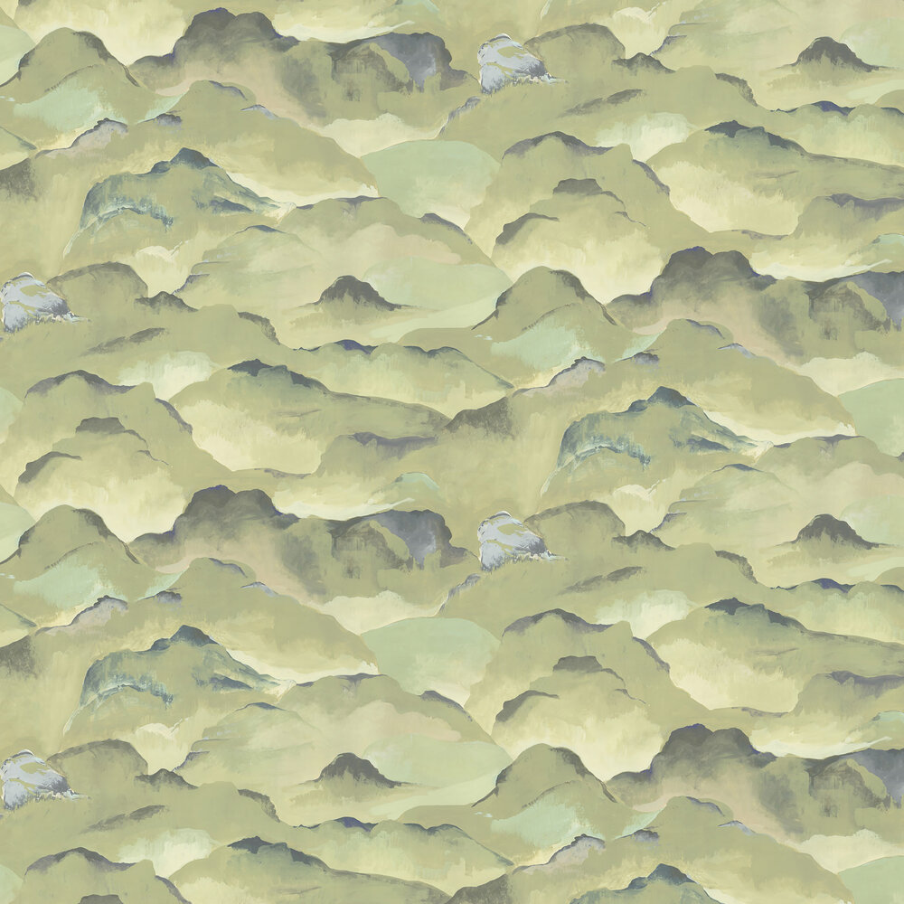 Rumi Wallpaper - Misty - by Linwood