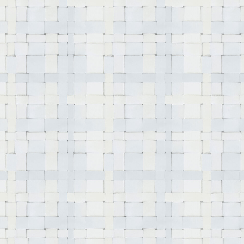 Engblad & Co Weave Cool White Wallpaper - Product code: 4050