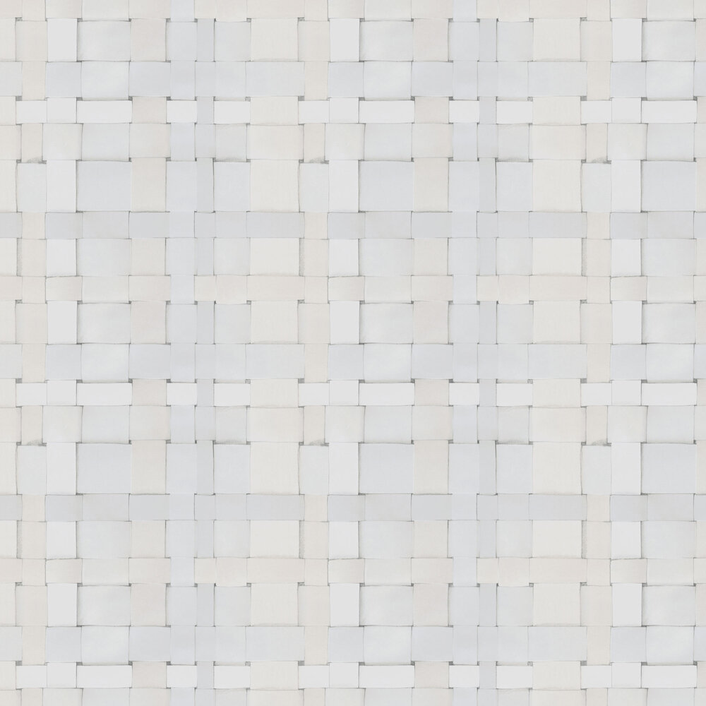 Engblad & Co Weave Warm white Wallpaper - Product code: 4051