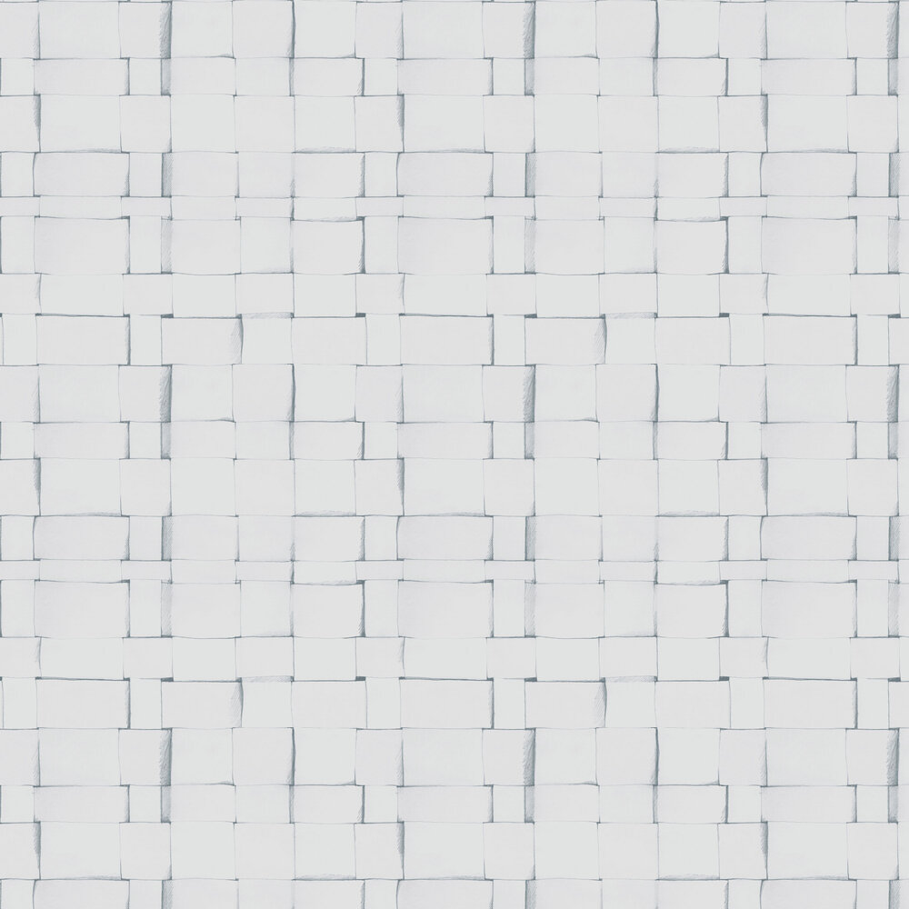 Engblad & Co Sketch Weave White Wallpaper - Product code: 4062