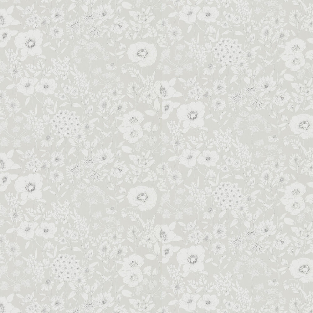 Maelee Wallpaper - Dove - by Sanderson