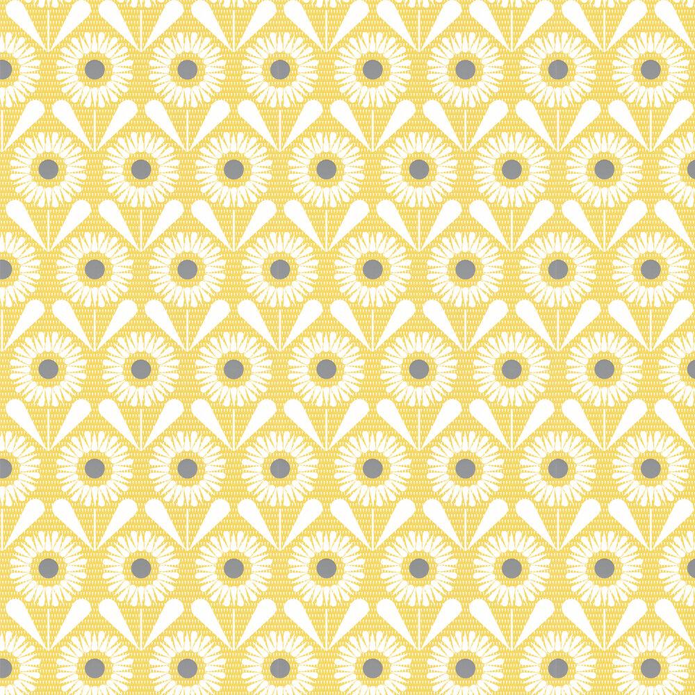 Layla Faye Sunny Flower Buttercup Yellow Wallpaper - Product code: LF1062