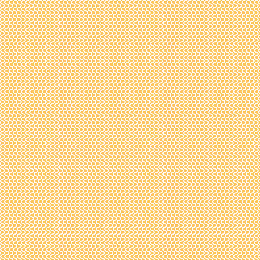 Ripple Wallpaper - Tangerine - by Layla Faye