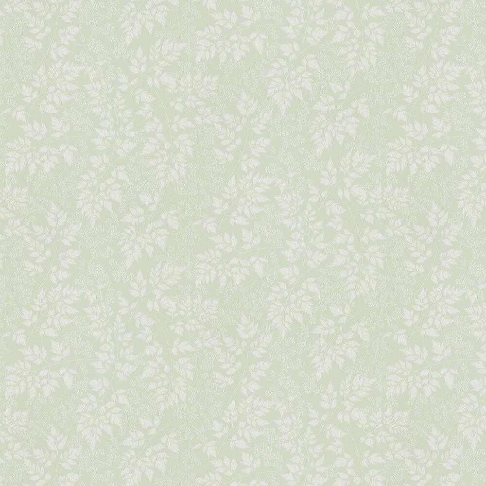 Spring Leaves Wallpaper - Celadon - by Sanderson