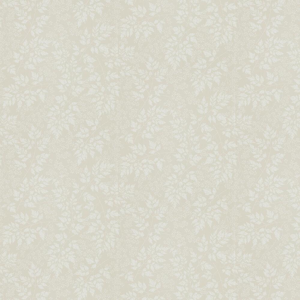 Spring Leaves Wallpaper - Barley - by Sanderson