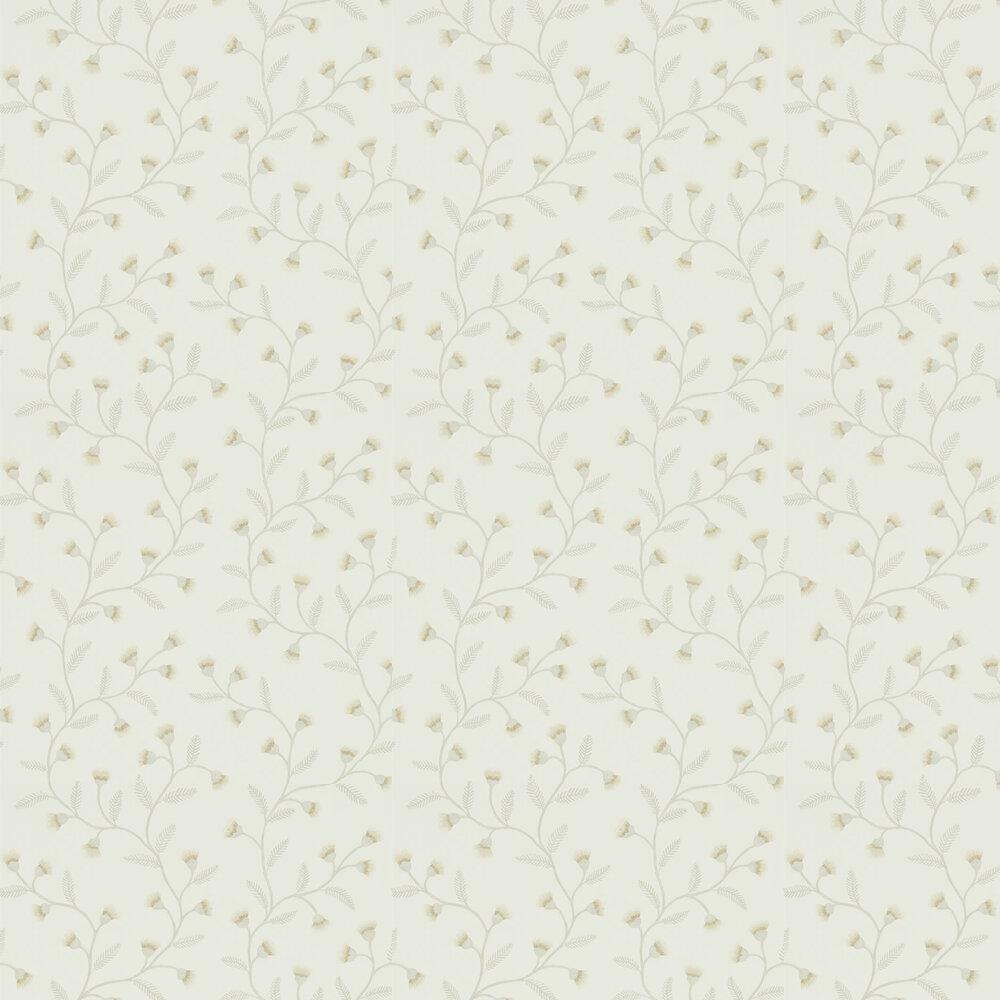 Everly Wallpaper - Linen - by Sanderson