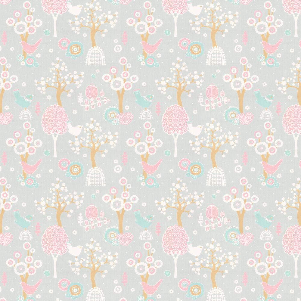 Majvillan Cherry Valley Grey Wallpaper - Product code: 102-04