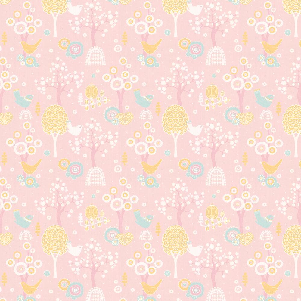 Majvillan Cherry Valley Pink Wallpaper - Product code: 102-05