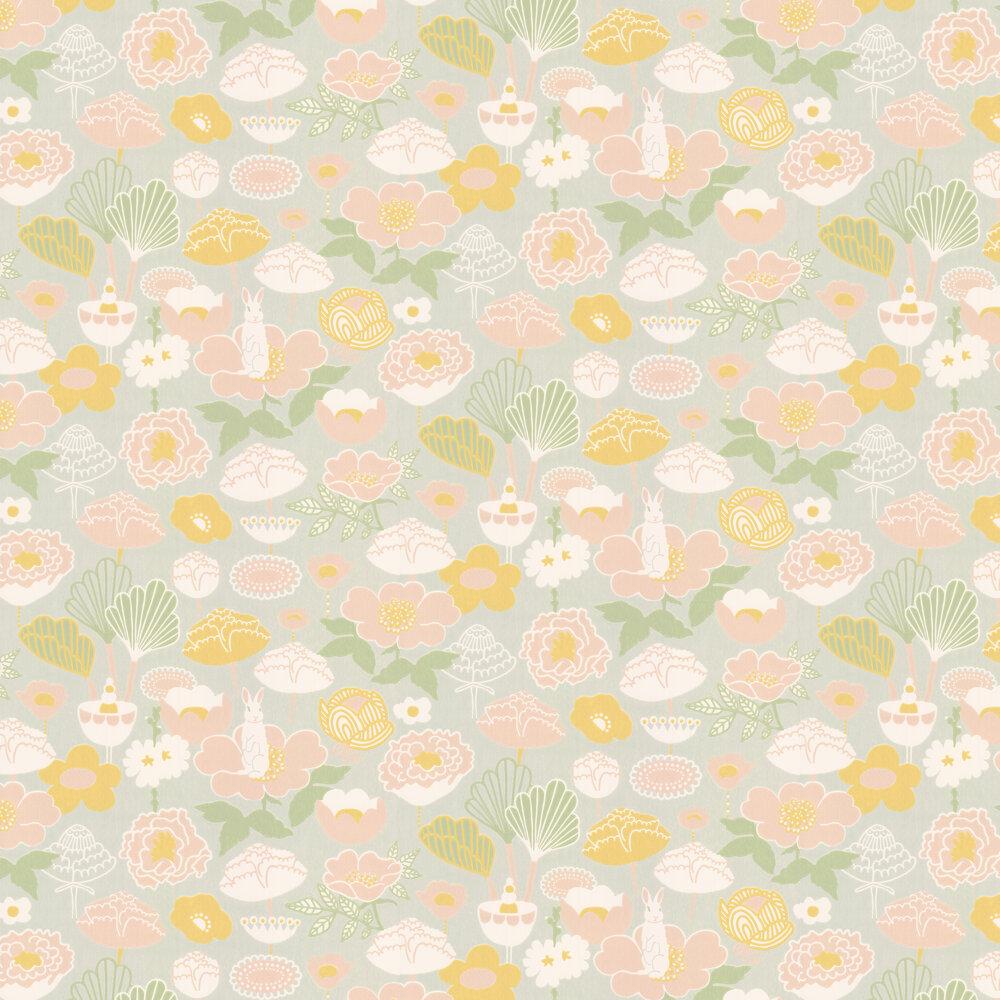 Little Light Wallpaper - Light Grey - by Majvillan