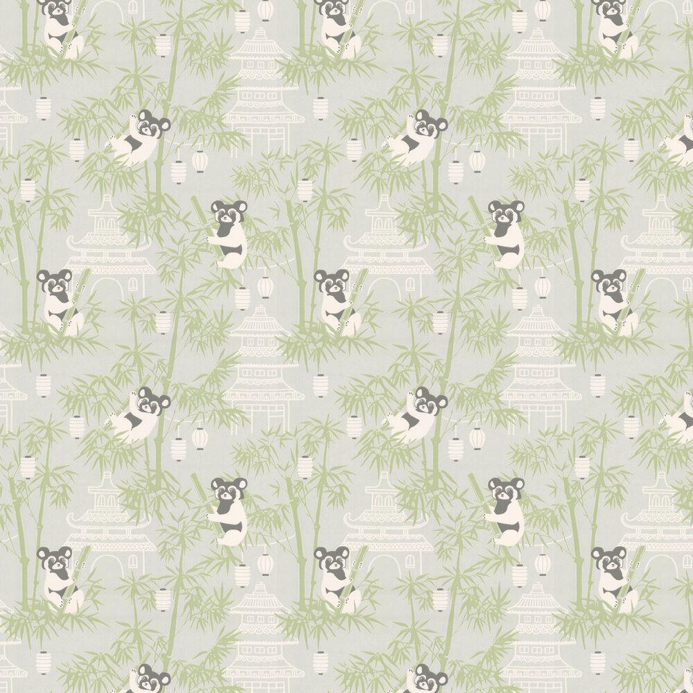 Bambu Wallpaper - Grey - by Majvillan