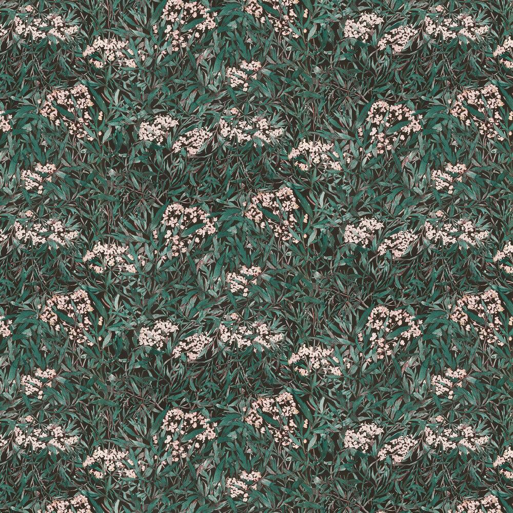 Sandberg Malin Forest Green Wallpaper - Product code: 225-81