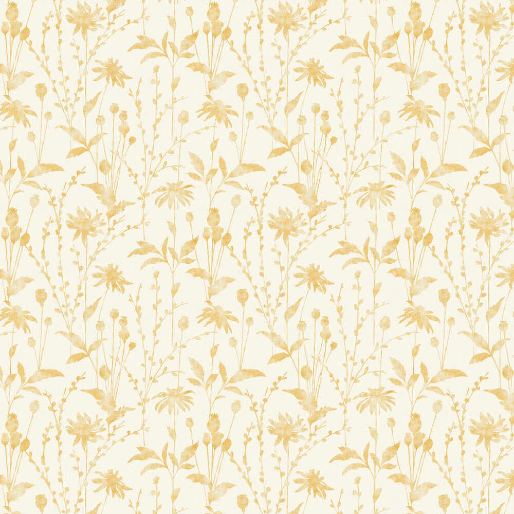 Albany Meadow Mustard Wallpaper - Product code: CB42111