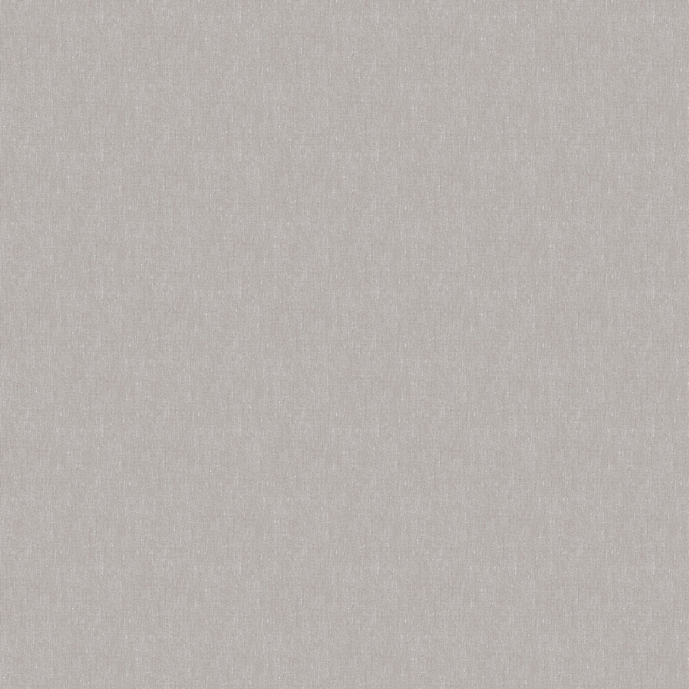 Linen Plain Wallpaper - Taupe Brown - by Boråstapeter