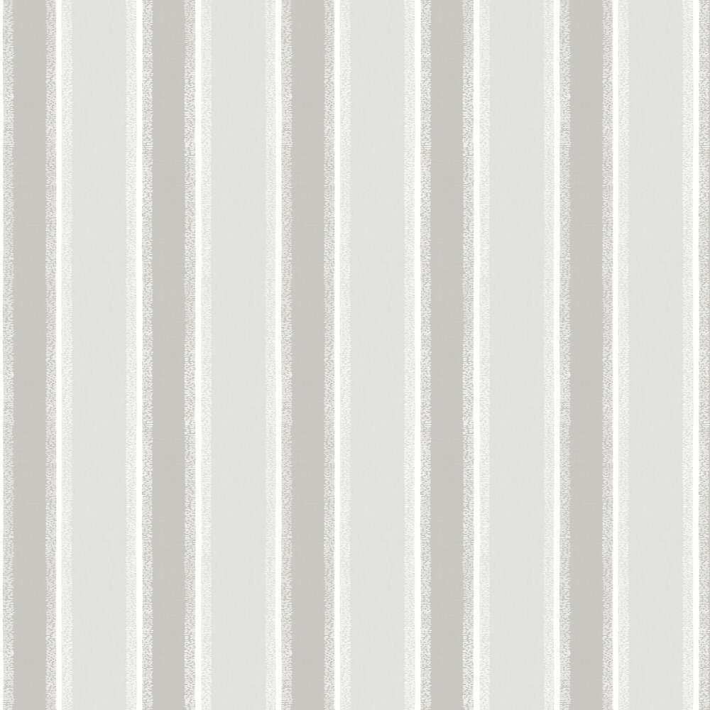 Stripe Wallpaper - Grey - by Albany