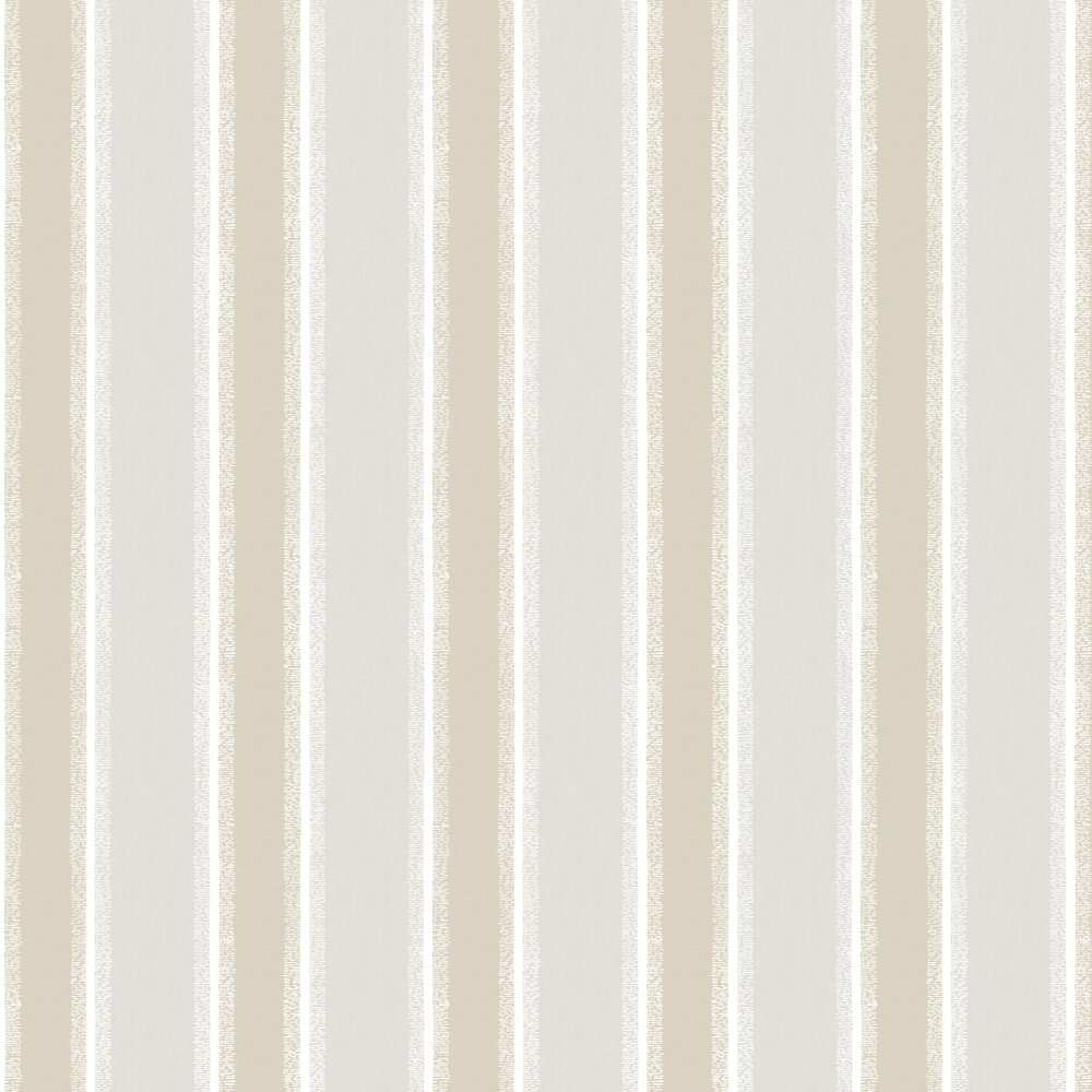 Stripe Wallpaper - Beige - by Albany