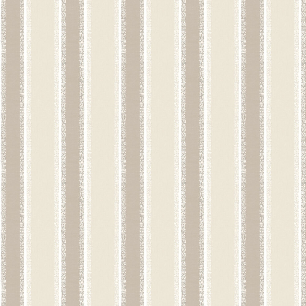 Stripe Wallpaper - Taupe - by Albany