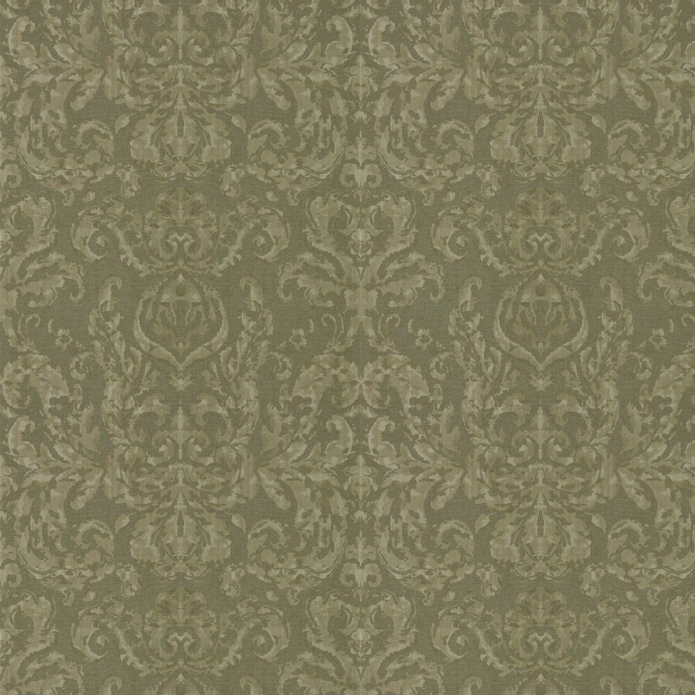 Brocatello Wallpaper - Olivine - by Zoffany