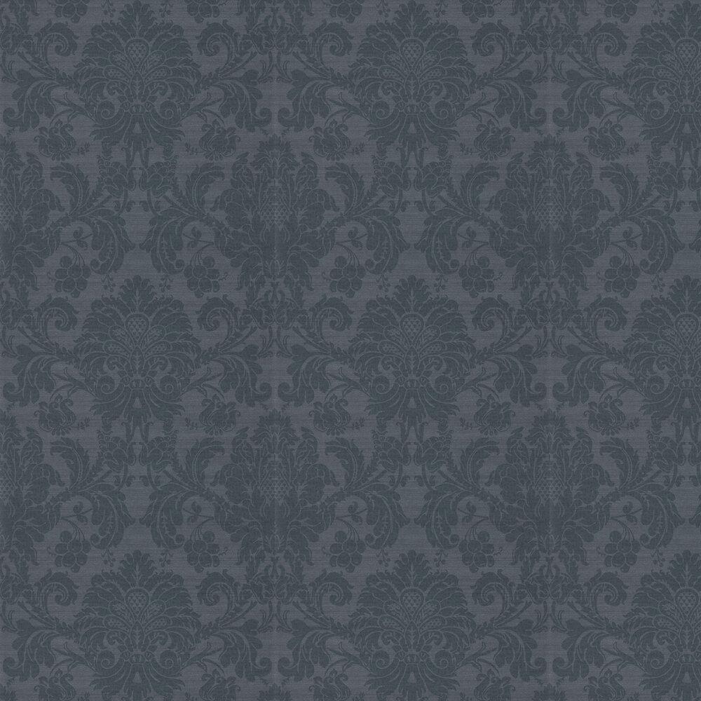 Crivelli Wallpaper - Como Blue - by Zoffany