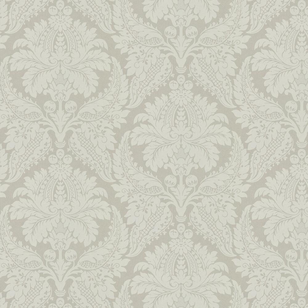 Malmaison Wallpaper - Linen - by Zoffany