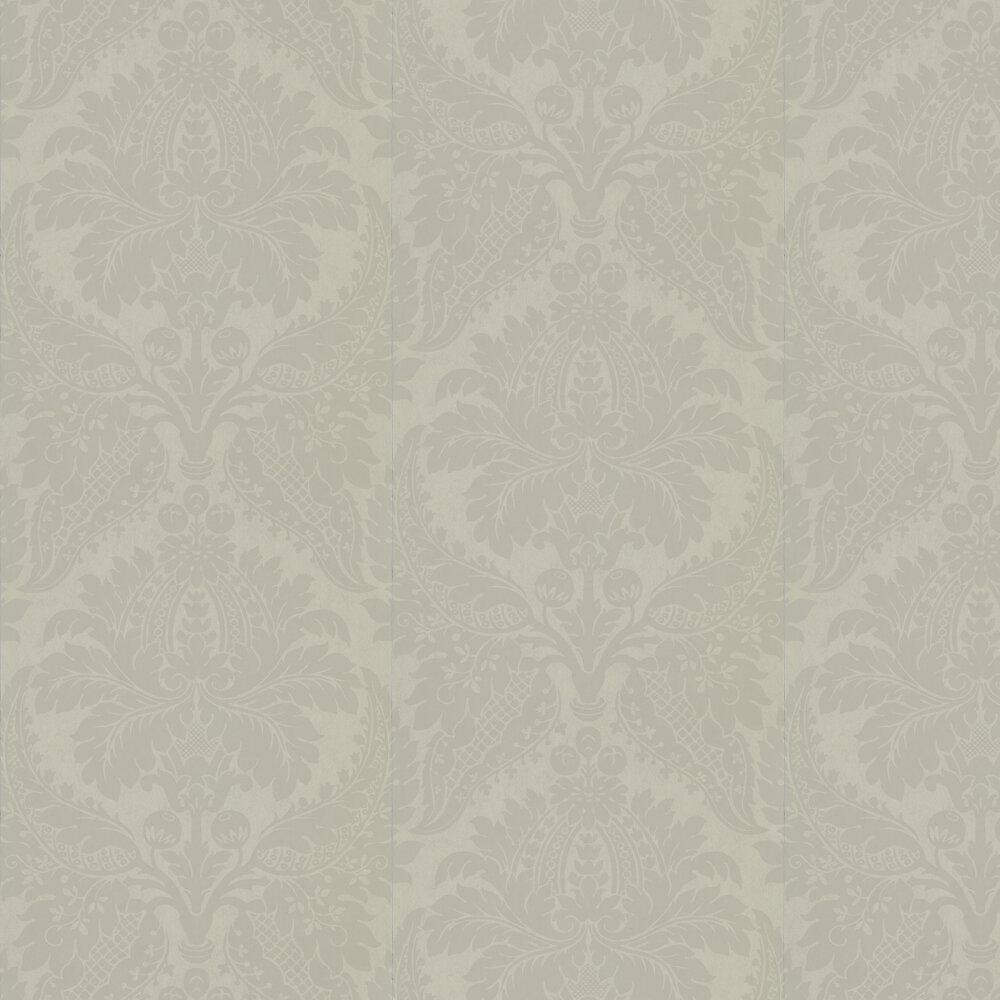 Malmaison Wallpaper - Grey Pearl - by Zoffany