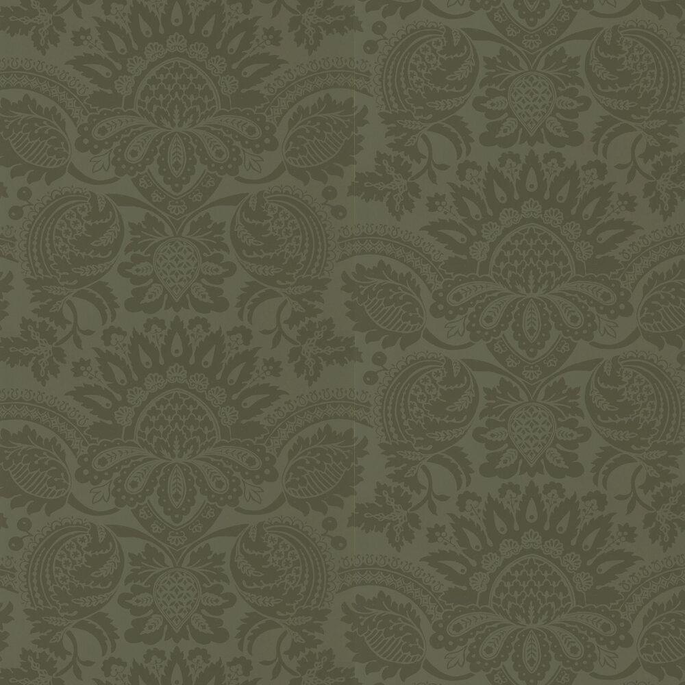 Pomegranate Wallpaper - Olivine - by Zoffany