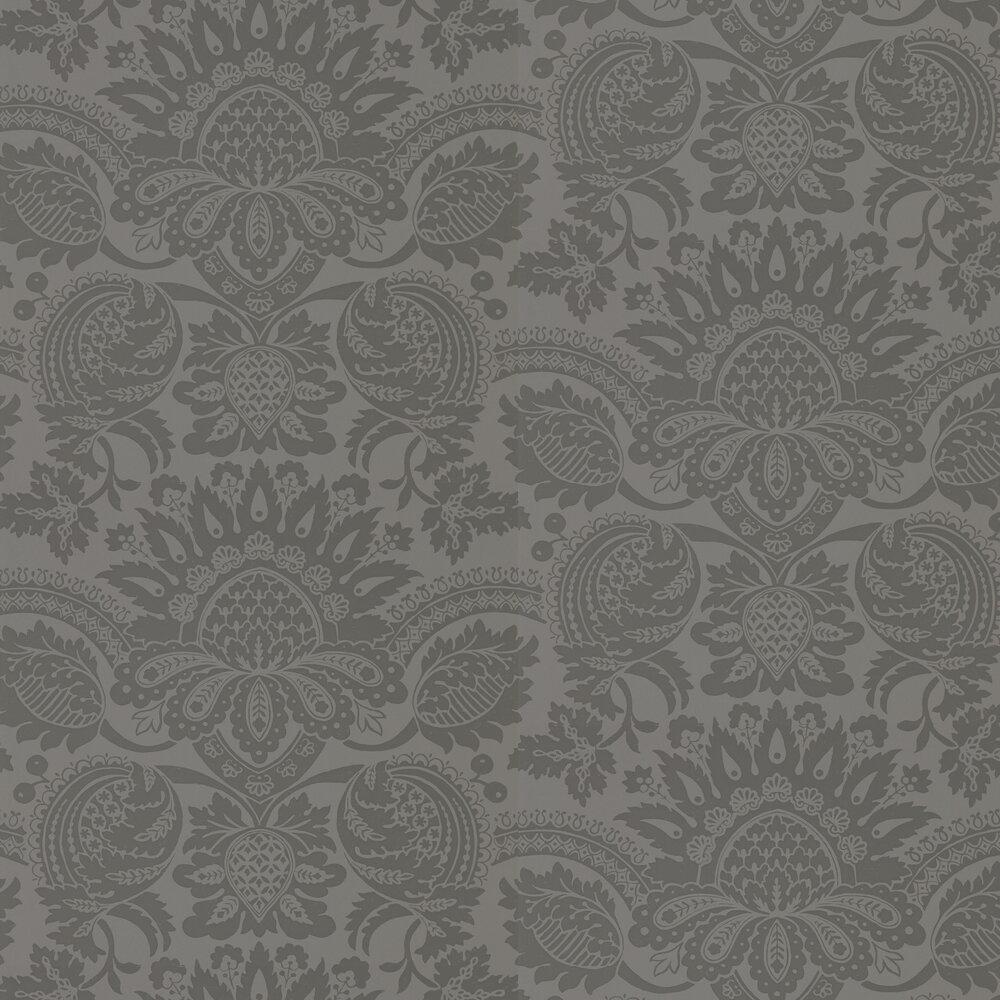 Pomegranate Wallpaper - Logwood Grey - by Zoffany