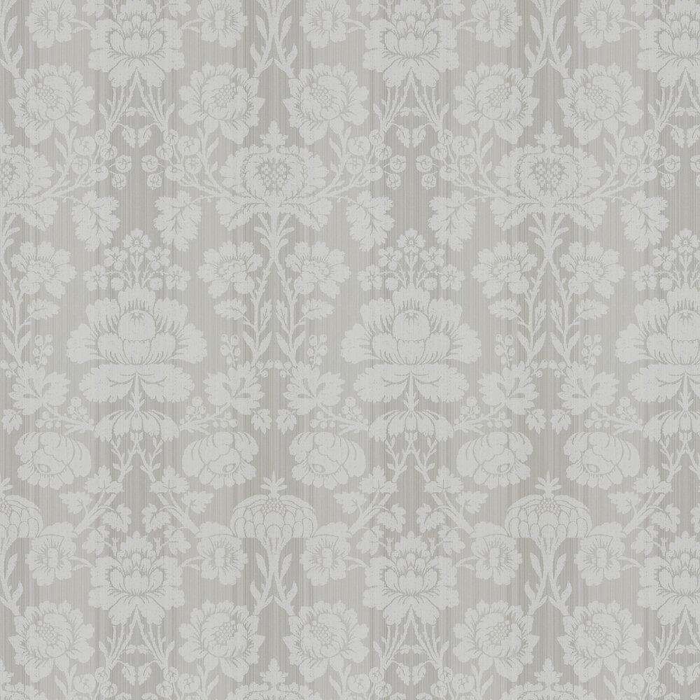 Beauvais Wallpaper - Logwood Grey - by Zoffany
